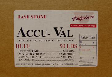 Accu-Val Duplicating Stone